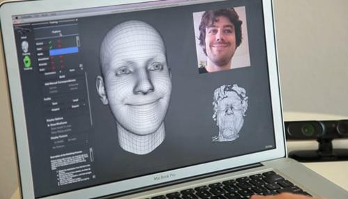 Faceshift, reconnaissance faciale