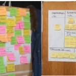 start-up week end- post-it