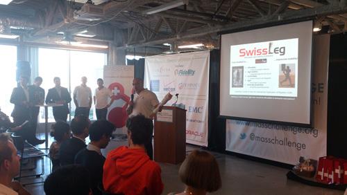 swissleg, le pitch de la start-up