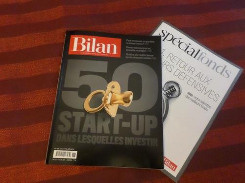 Bilan N0 spécial startup suisse