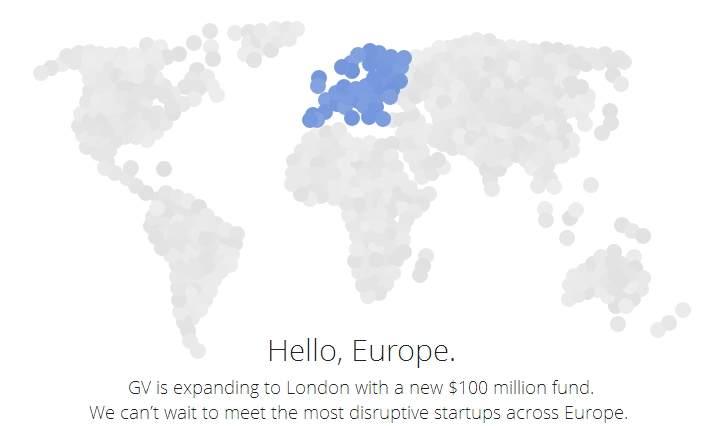 Google Venture en Europe