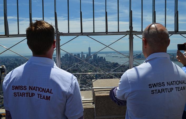 New York  envahie par la Swiss National Startup Team