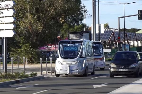 vehicule autonome - bestmile