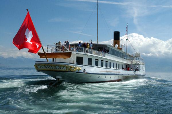 La Suisse navigue