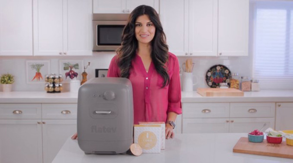 Flatev, la machine à tortillas sur Kickstarter