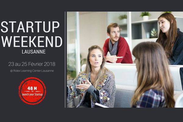 Start-up Week-end Lausanne 2018