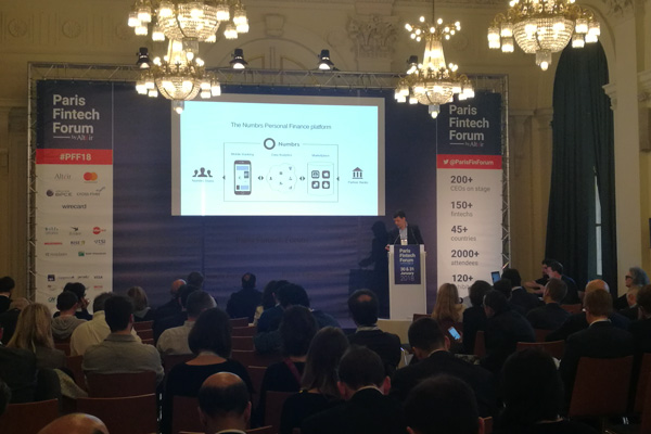 Paris Fintech Forum -Numbrs