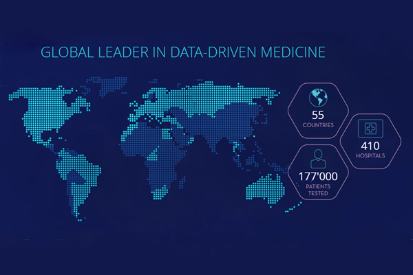 Global leader in data Driven Medicine