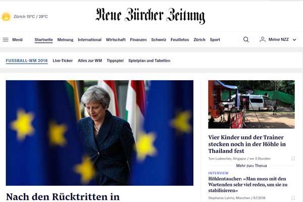 Neue Zurcher Zeitung - presse