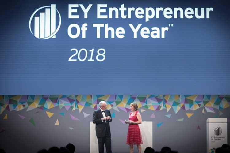 EY- entrepreneur de l'année 2018